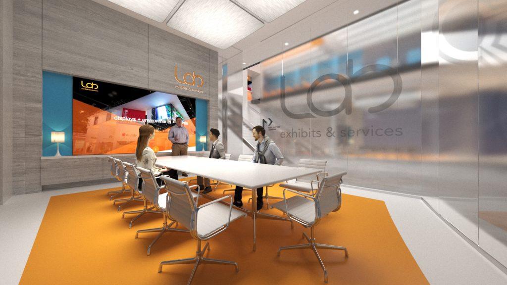 Lab Exhibits Virtual Conference Room
