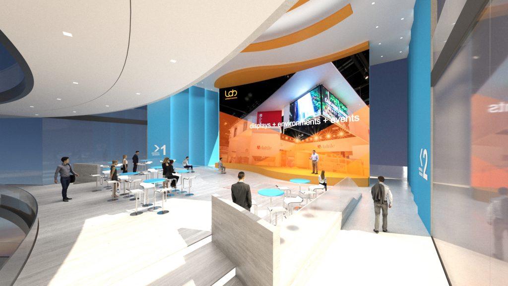 Lab Exhibits Virtual Environments